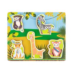 """Small Foot Puzzle Setzpuzzle """"Jungle"""", 5 Puzzleteile"""