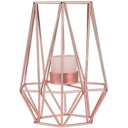 Favson Kerzenständer Metall Geometrische Kerzenständer Teelichthalter Home Decor Rose Gold