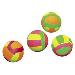 Nobby Moosgummi Volleybälle 4er Netz