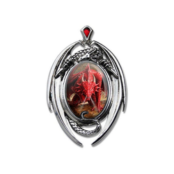 Adelia´s Amulett Cabochon Talisman, Dragons Lair Cabochon