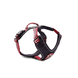 Wolters Hunde-Geschirr Active Pro, Nylon rot 45 cm - 52 cm