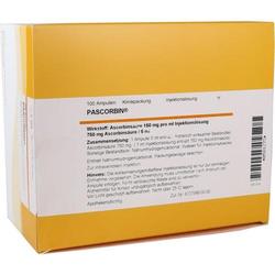 PASCORBIN 750 mg Ascorbinsäure/5ml Injektionslsg. 500 ml