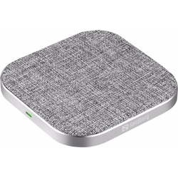 Sandberg Wireless Charger Pad (15W), Wireless Charger, Grau