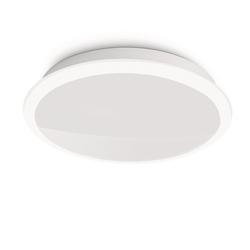 Qualitaetsware24 Deckenleuchte Philips LED Deckenleuchte Denim Modern Deckenlampe Weiß