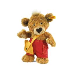 Steiff Kuscheltier Steiff Knopf Teddybär 25 cm hellbraun