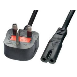 Lindy 30059 2m UK Netzstecker an IEC C7