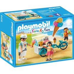 Playmobil® Spielfigur PLAYMOBIL® 9426 Fahrrad mit Eiswagen