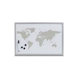 HTI-Living Pinnwand Magnettafel beschreibbar World, Magnettafel