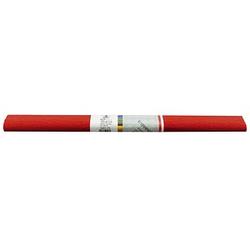 WEROLA Krepppapier Wasserfest rot 50,0 x 250,0 cm 32,0 g/qm