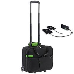 Leitz Complete Smart Traveller Handgepäcktrolley 42 cm inkl. Leitz Powerbank 5200mAh - Schwarz