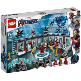 Lego Marvel Super Heroes Iron Mans Werkstatt 76125