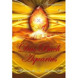 Das Buch Aquarius als Buch von Anonym