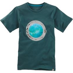 T-Shirt Hologramm, grün, Gr. 128/134 - 128/134 - grün