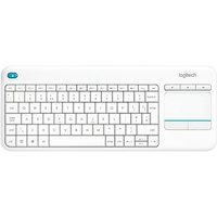 Logitech K400 Plus Wireless Touch Keyboard DE weiß (920-007128)
