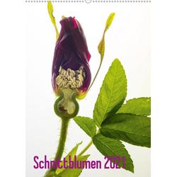 Schnittblumen 2021 (Wandkalender 2021 DIN A2 hoch)