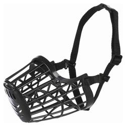Trixie Maulkorb Kunststoff schwarz, Größe: M-L / z.B. Rottweiler