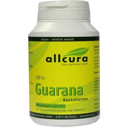 Guarana Kautabletten