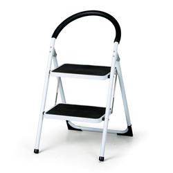 Stahlleiter klappbar mit sicherheitsgriff, 2 stufen