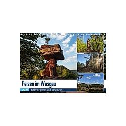 Felsen im Wasgau (Wandkalender 2021 DIN A4 quer) - Kalender