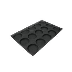 SCHNEIDER AIR Hamburger Backform, Gebäckform für Hamburger, wie auch Feingebäck, Durchmesser: 104 mm