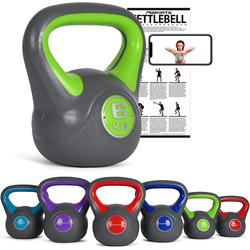 MSports® Kettlebell Kettlebell Kunststoff grün
