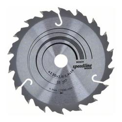 Bosch Kreissägeblatt Speedline Wood 130 x 16 x 2,0 mm 18