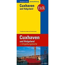 Falk Plan Cuxhaven und Helgoland - Buch