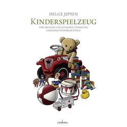 Kinderspielzeug als Buch von Helge Jepsen