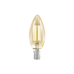 Eglo LED-Leuchtmittel Vintage Kerze, 4W / E14