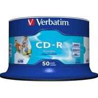 Verbatim CD-R 700MB 52x bedruckbar 50er Spindel (43438)