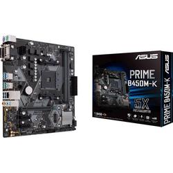 Asus Prime B450M-K Mainboard Sockel AMD AM4 Formfaktor Micro-ATX Mainboard-Chipsatz AMD® B450