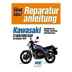 Kawasaki Z 400 / Z 500 / Z 550 - Buch