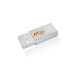 Terratec CINERGY Mini Stick Mac/Win Digitales Aufnahmegerät (DVB-T Empfänger (kein DVB-T2), Fernsehen, Macbook, PC, Notebook, Computer, TV, wei)
