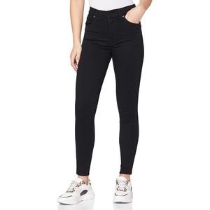 Levi's Damen Mile High Super Skinny Jeans, Black Galaxy, 24W / 34L