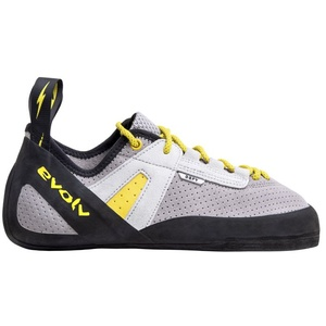 Evolv Defy Lace - Kletter- und Boulderschuh - Herren Grey/Black/Yellow 9 UK