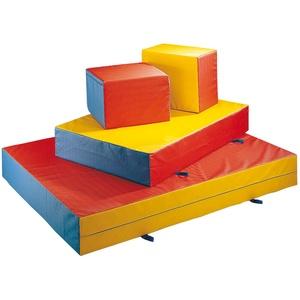 Mini-Weichbodenmatte, Bunt, 200 x 150 x 25 cm 200 cm, 150 cm