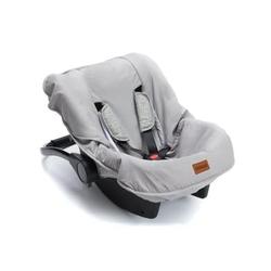 fillikid Sitzbezug für Babyschale Hellgrau