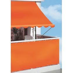 Angerer Freizeitmöbel Klemmmarkise, orange, Ausfall: 150 cm, versch. Breiten orange Klemm-Markisen Markisen Garten Balkon Klemmmarkise