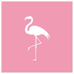 PPD Papierserviette Pink Flamingo 20 Stück 33 cm