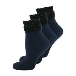 Elbeo Freizeitsocken 3-Pack Glam Dream blau 35-38