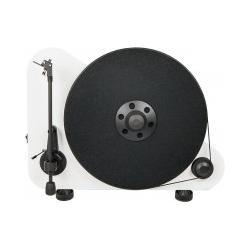 Pro-Ject Phono VT-E R inkl. Ortofon OM 5e in matt weiß Plattenspieler