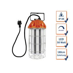 REV Strahler, Dimmbare LED Arbeitsleuchte, Arbeitslampe mit Tragegriff, Handleuchte, Werkstattlampe 180cm Zuleitung