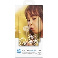HP Sprocket Studio Fotopapier Weiß Glanz