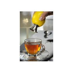 GEFU Zitruspresse Zitronensaft Ausgießer CITRONELLO silberfarben