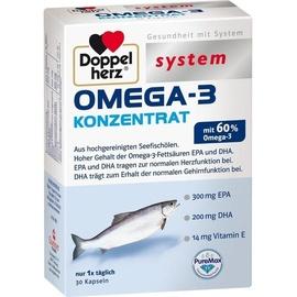 Doppelherz Omega-3 Konzentrat Kapseln 30 St.