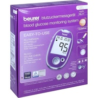 Beurer GL 44 Blutzuckermessgerät mg/dl