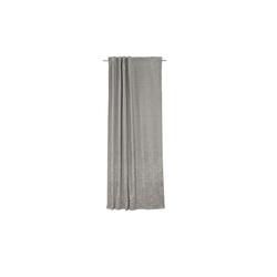 Sun Garden Schlaufenvorhang Frozen in silber, 135 x 245 cm