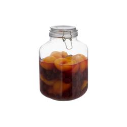 relaxdays Einmachglas 3 Liter Einmachglas, Glas