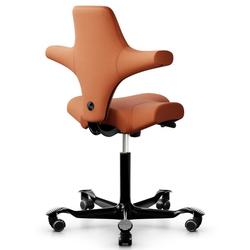 HAG Capisco 8106 Sattelstuhl Bürostuhl - Stoff Select Orange - Gasfeder 200 mm