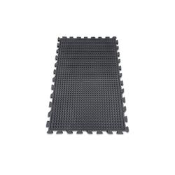 etm Gummimatte Puzzle-Stallmatte schwarz 80 cm x 120 cm x 20 mm